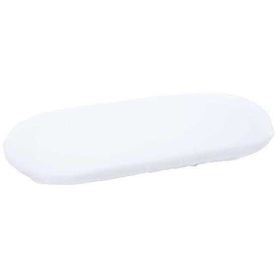Picture of Moses Basket Fitted Sheet white