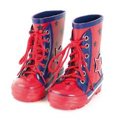 Picture of boys star wellies