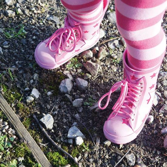 Picture of girls star wellies 2 - 3 years