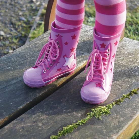 Stivali da Pioggia Bimba Stelle 24-36 mesi