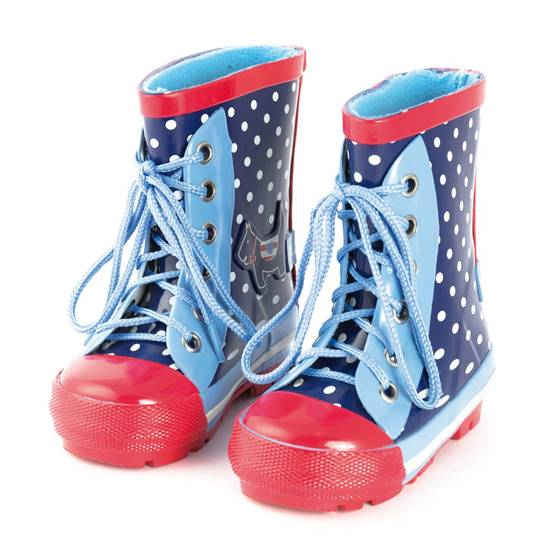 Picture of scottie dog wellies 2 - 3 years