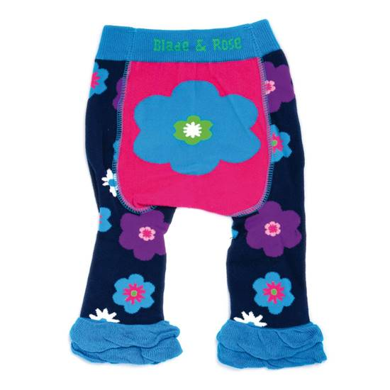 Picture of flower 06-12 months leggings
