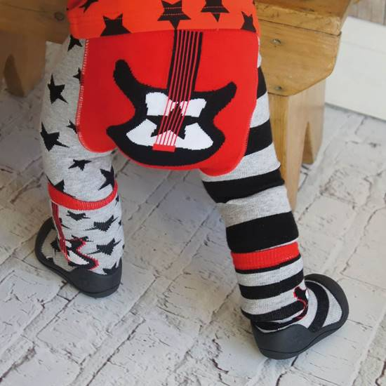 Picture of guitar 00-06 months leggings