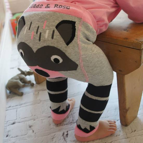 Picture of racoon 06-12 months leggings