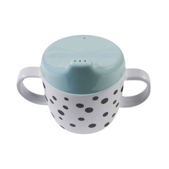 Picture of STARTER DINNER SET HAPPY DOTS BLUE
