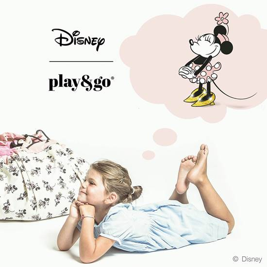 Picture of Storage bag DISNEY MINNIE GOLD SHOES