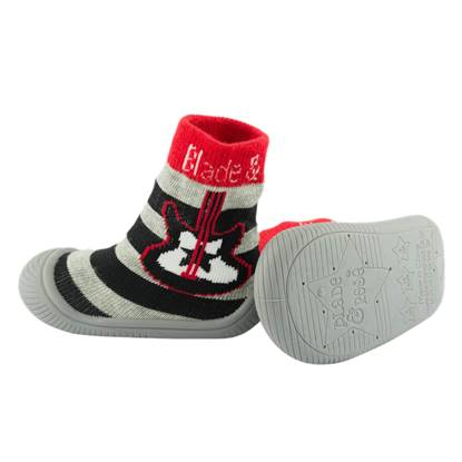 Picture of guitar sock shoes