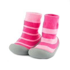 Picture of girls stripes sock shoes