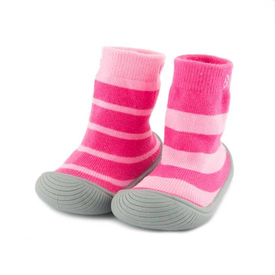 Picture of girls stripes sock shoes 11.5 cm