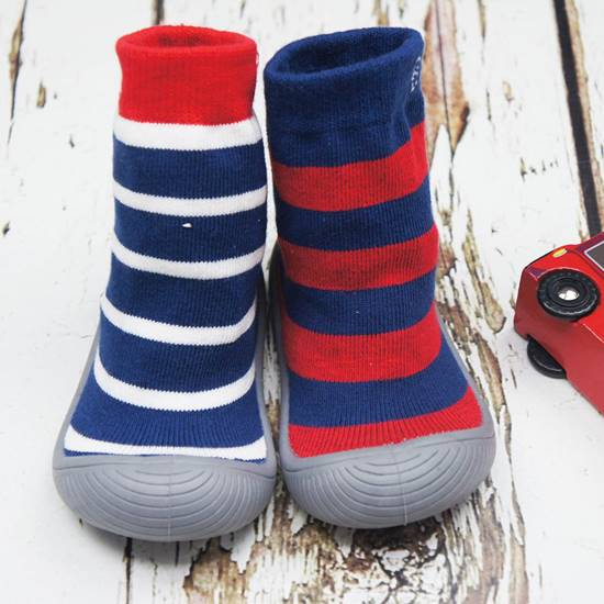 Picture of boys stripe sock shoes 13.5 cm