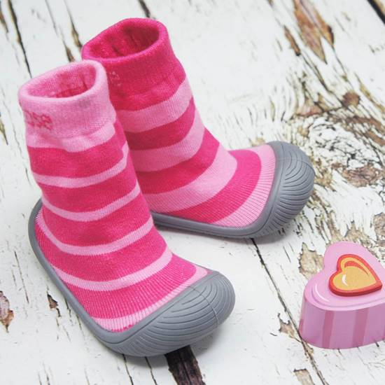 Picture of girls stripes sock shoes 12.5 cm