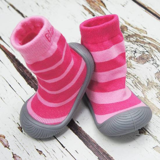 Picture of girls stripessock shoes 13.5 cm