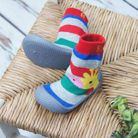 Picture of giraffe sock shoes 11.5 cm