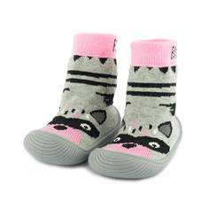 Picture of racoon sock shoes