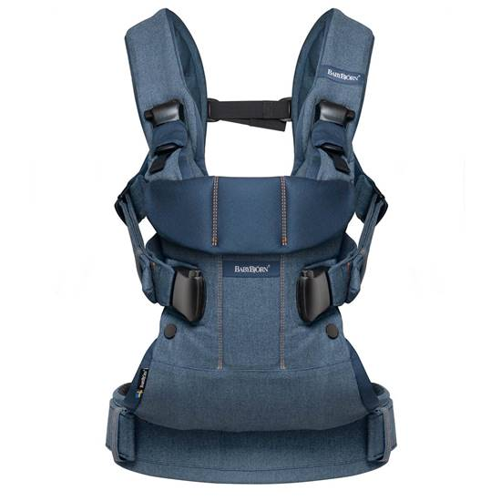 Picture of Baby Carrier One Classic Denim/Midnight Blue Cotton Mix