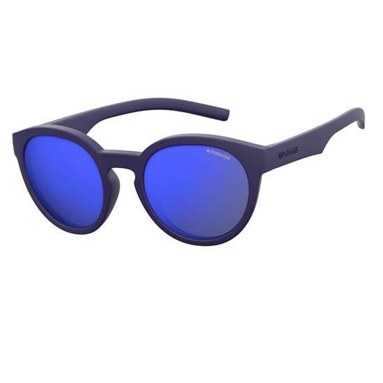 OCCHIALE BABY TWIST ROUND SPECCHIATO PLD8020 BLUE NIGHT