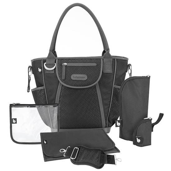 Borsa fasciatoio Daily bag Black