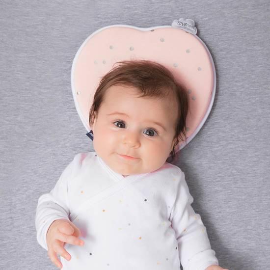 cuscino ergonomico neonato Lovenest original pink