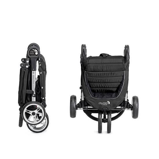 Passeggino City Mini 3  Black + Maniglione Di Sicurezza