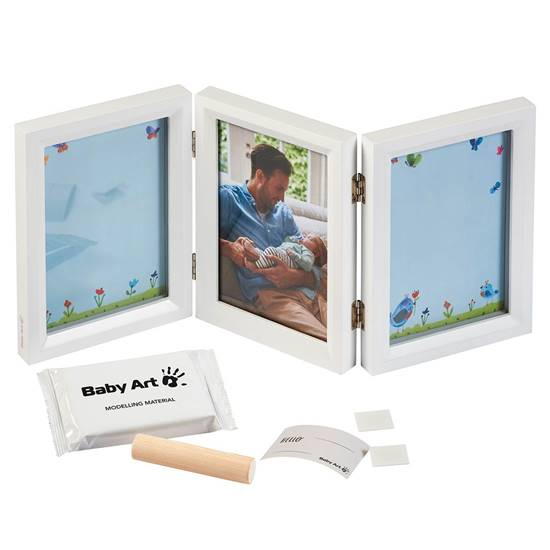 Picture of Reversible frame with double impression My Baby Touch Carolyn Gavin
