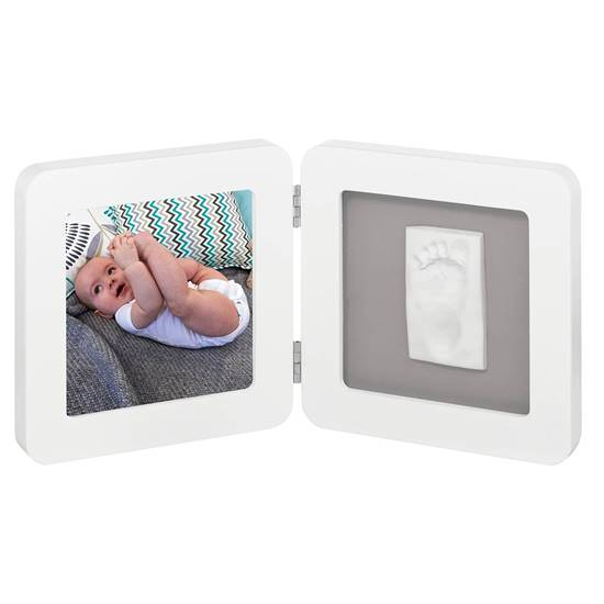 Picture of Frame with impression My Baby Touch White