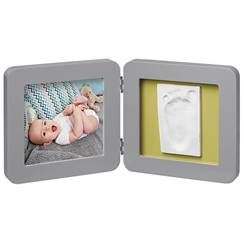 Picture of Frame with impression My Baby Touch Grey