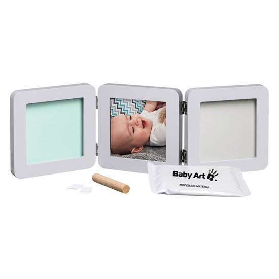 Picture of frame with double impression My Baby Touch Pastel