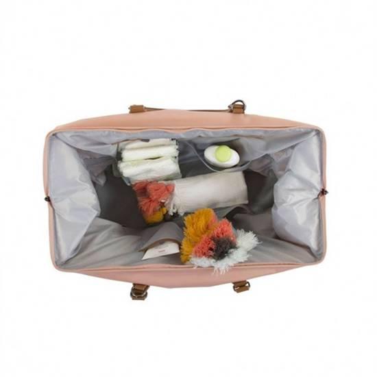 Borsa Fasciatoio Mommy Bag Pink