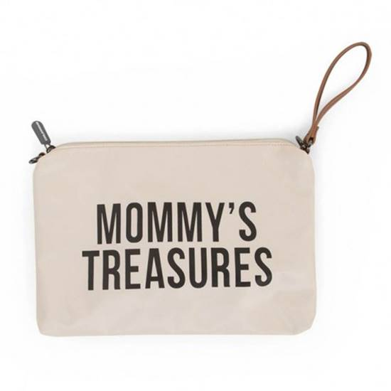 Picture of Mommy Treasures Clutch Off White