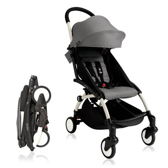 Picture of 6+ color pack yoyo+ stroller grey