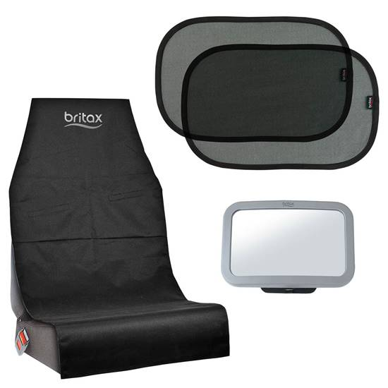 Picture of Set 3 pieces seat protection, mirror and sun protection