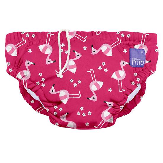 Picture of SWIM NAPPY PINK FLAMINGO 0-6 MONTHS