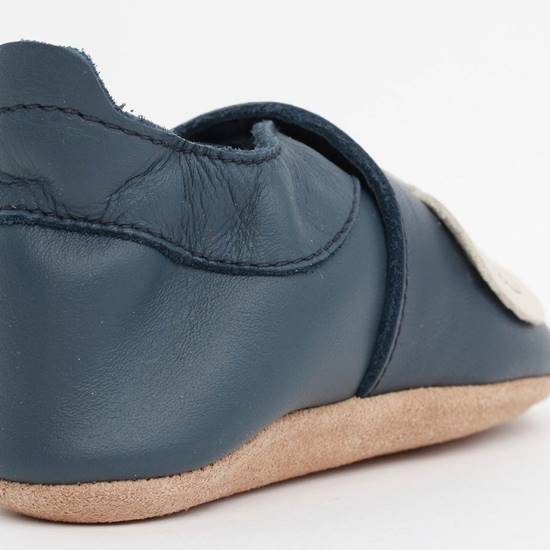 Scarpina Soft Sole Elefante Navy XL (22/23 - 21/27 mesi)
