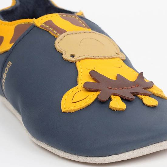 Picture of Soft Sole Giraffa Navy L (20/21 - 15/21months)