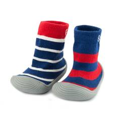 Picture of boys stripe sock shoes