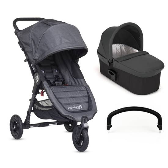 DUO CITY MINI GT Charcoal/Charcoal