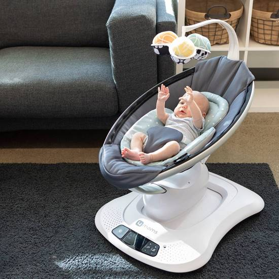 Picture of Mamaroo 4 Bouncer Cool Mesh Dark Grey