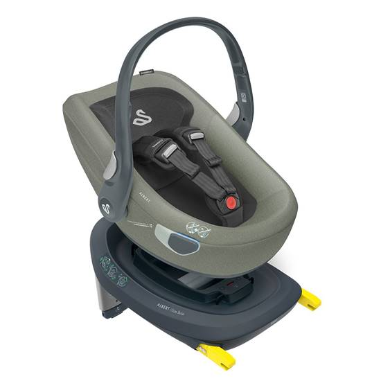 Picture of Albert I-Size car seat Olive Gray