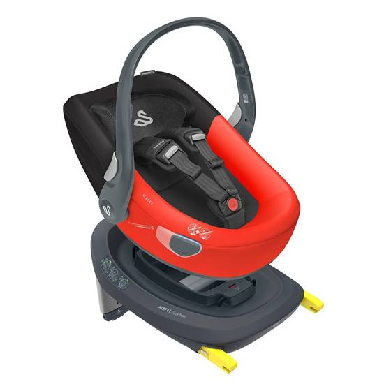 Picture of Albert I-Size car seat Red Black