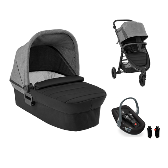 Picture of 3 in 1 Pram System City Mini GT2 Barre Limited Edition