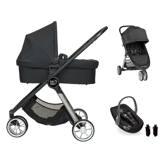 Picture of 3 in 1 Pram System City Mini2 3 wheels Jet