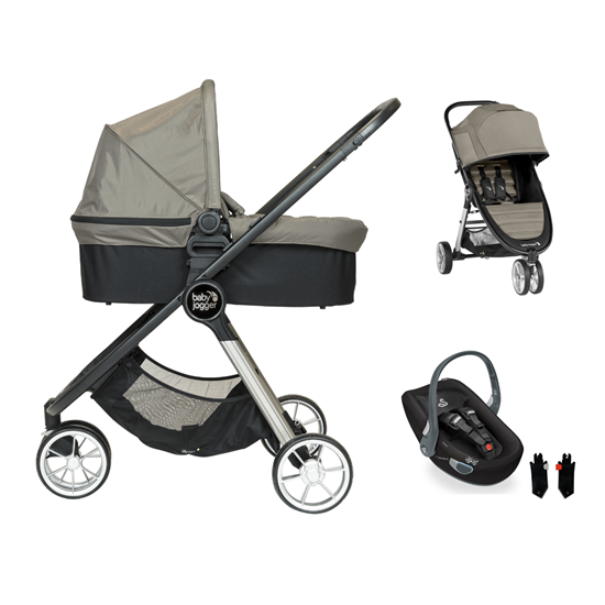 Picture of 3 in 1 Pram System City Mini2 3 wheels Sepia